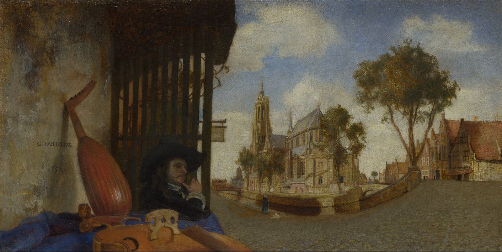 The case of mistaken identity: Carel Fabritius as his master Rembrandt