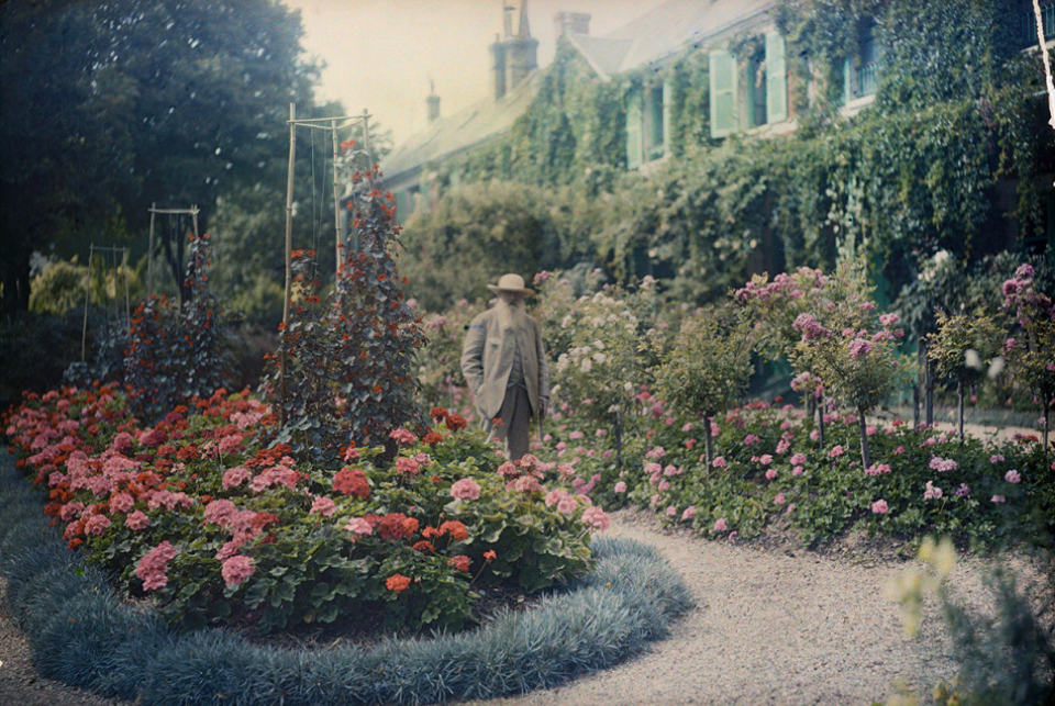Monet's Muse In Gardens at Giverny