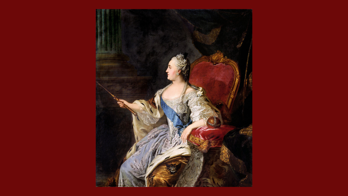 Catherine The Great and her great art collection