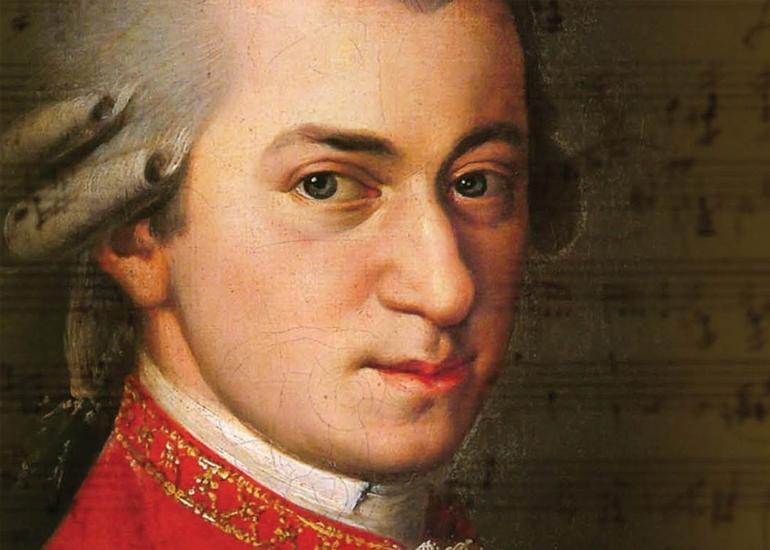 Musical genius Mozart is his own words