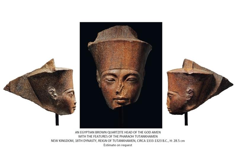 Controversial Tutankhamen's bust auctioned for Rs 41 crore