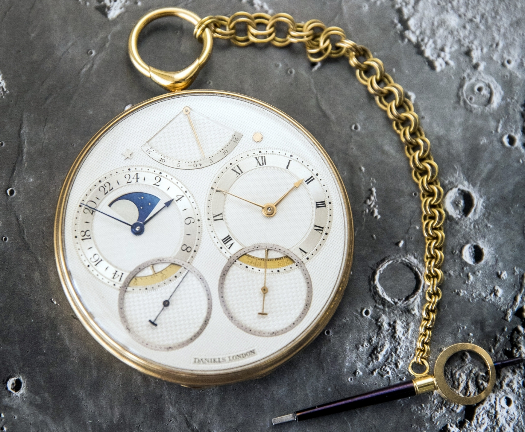 English pocket watch sells for record price at auction
