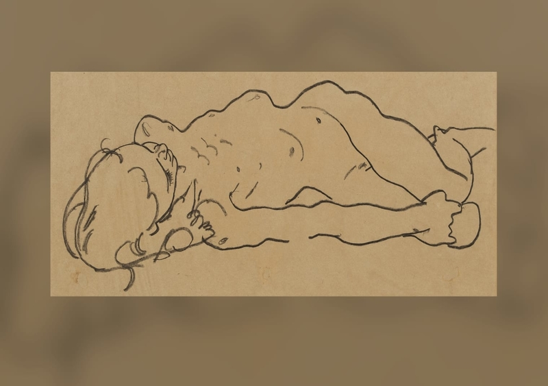 A New York man ended up buying an Egon Schiele drawing in a thrift store