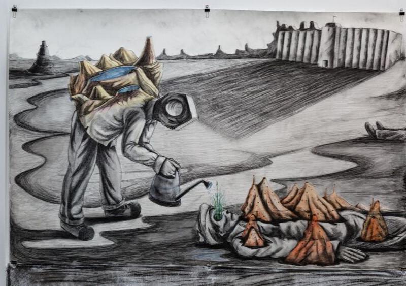Indian Artist Prabhakar Pachpute shortlisted for Artes Mundi 9