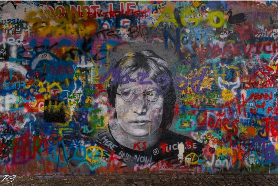 Vandalism forces John Lennon wall in Prague to bid goodbye
