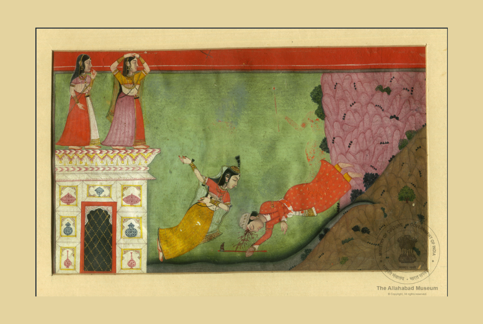 Valentines Day: 10 Works Of  Medieval Indian Art Depicting Emotions Of Love
