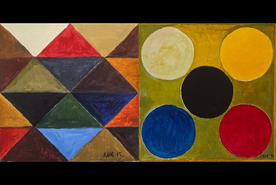 Dance of The Elements  S. H. Raza