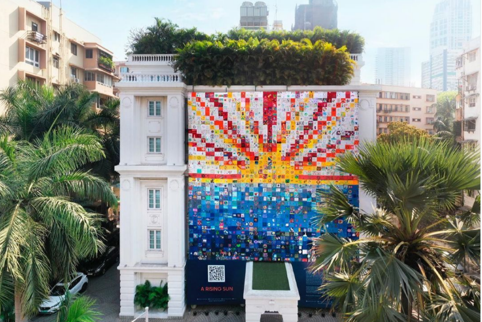 Majestic Installations From 'The Corona Quilt Project' Exhibiting Across Mumbai