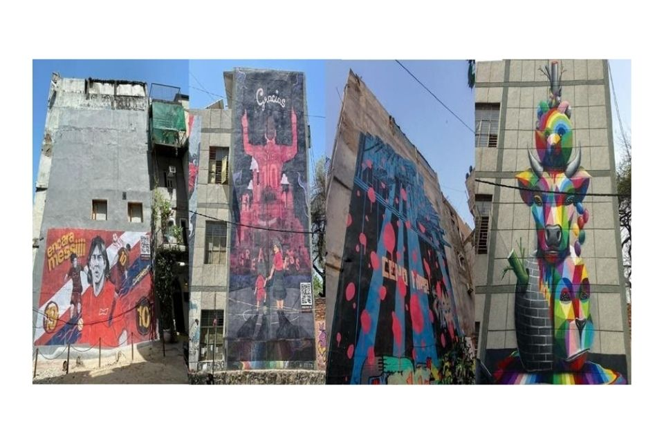 """St+Art calls out Budweiser in an open letter for """"hijacking"""" street art murals in New Delhi for advertisements"""