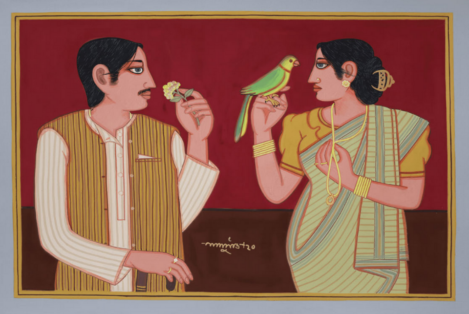 Lalu Prasad Shaw's NFT-certified works on Terrain.art inaugural exhibition